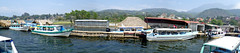 Santiago Docks (Andrew J. Tonn) Tags: santiago panorama lago maya guatemala atitlan mayan volcanic centralamerica lakeatitlan santiagoatitlan lagodeatitlan volcaniclake calderalake santiagolalaguna tzutuhuile guatemalanlake