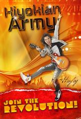 kiyokian army 01 (noelevz) Tags: poster army hayley kiyoko kiyokian