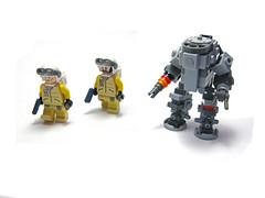 WAF Angreifer and Troopers (ernald) Tags: robot lego military bot mech dpa brickarms