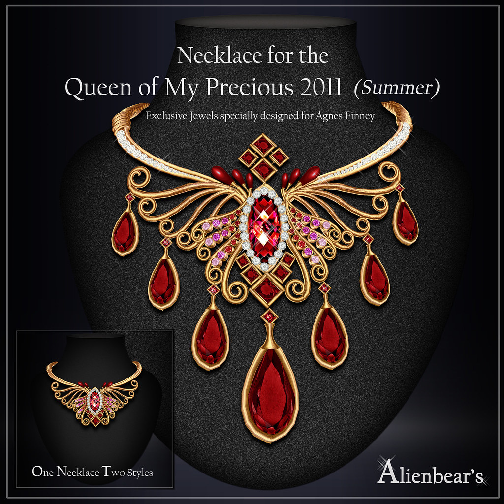 Necklace for Queen of My Precious 2011 Summer