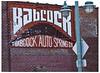 Babcock Auto Spring - 1916 (swanksalot) Tags: auto wall spring ad billboard milwaukee babcock wi 1916 swanksalot sethanderson babcockautospring