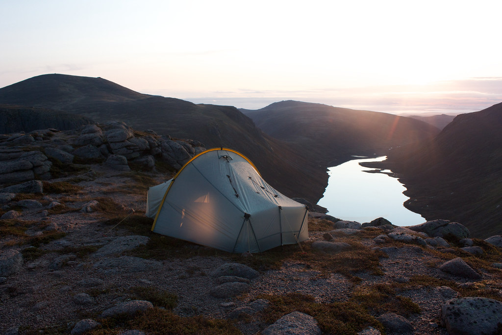 Scarp 1 at sunrise