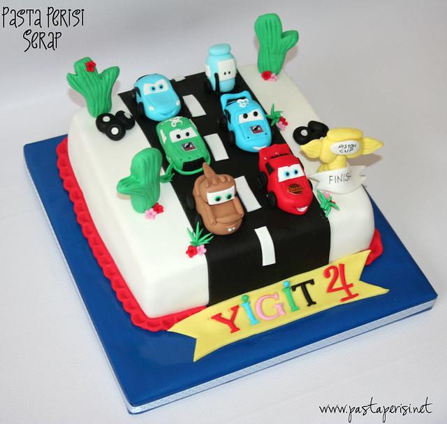 şimşek mc queen cake- Yiğit