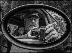 995 & NoJuan (NoJuan) Tags: 995 nikoncoolpix995 coolpix bw blackwhite selfportrait mirror reflection reflectedself