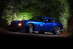 IMG_5024 (Yorkshire Pics) Tags: 0410 04102016 october tvr sagaris blue tvrsagaris bluetvr bluetvrsagaris bluecar night nightphotography nighttime nightscene supercars leeds swillington carsatnight transport supercarsatnight tvratnight
