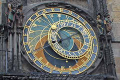 Prague (xplorengo) Tags: clock town astrology prague praag praha time weather