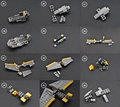 Naboo N-1 instructions (3) (Inthert) Tags: naboo lego moc ship star wars n1 phantom menace r2d2 fighter royal starfighter instructions