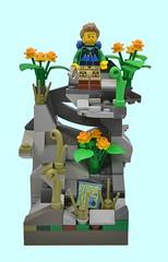 The Hiker (MinifigNick) Tags: series16 lego hiker minifigure minifig afol