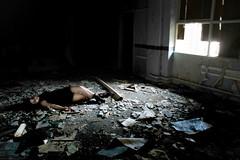 Edit 1 Deteriate (Bec.Kirby) Tags: house water girl dark death kirby bath smoke under suicide scan hanging bec sick overdose strangled hung bruised scanography bruises strangling derelic aery chocking overdosing