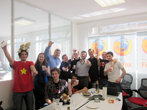 On trinque à Paris pour Firefox 4