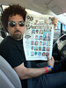 The guilty by association. (JulianBleecker) Tags: people newspaper unitedstates florida iso northamerica jacksonville mugshots mostwanted julianbleecker unknownflash