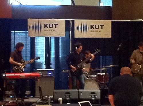 The Monahans, KUT morning set, on the Hilton Stage