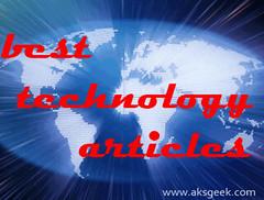 Best tech articles