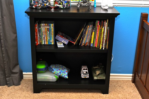 Bookcase After Photo