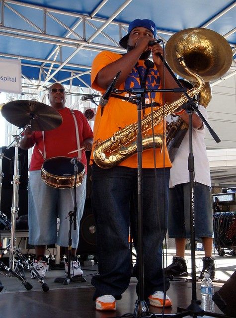 Soul Rebels Brass Band 2010 Raleigh