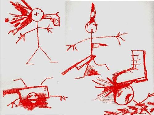 wrecker doodles