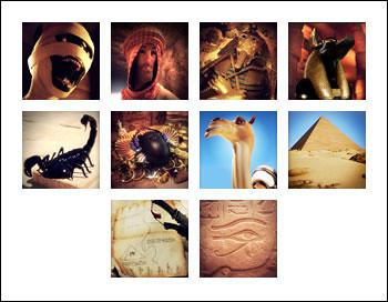 free Fortune of the Pharaohs slot game symbols