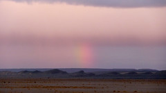 Light phenomenon in East at sunrise.