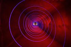 The Time Traveler (Dylan MacMaster) Tags: lightpainting tunnel culvert ledflashlight