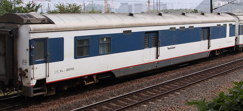 China Railways carriage XL25T 206760