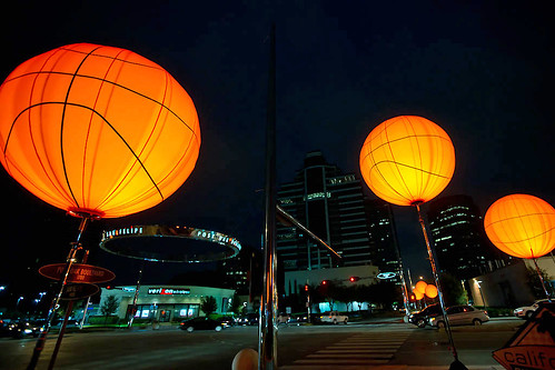 Basketballs On Post Oak