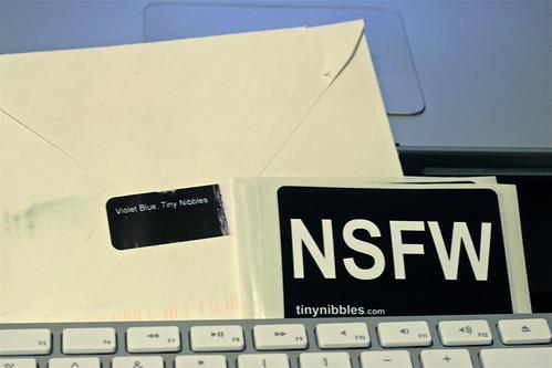 NSFW Sticker via @violetblue