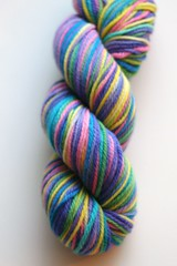 """Arco Iris"" - 3-ply Purewool - 3.6 ounces"