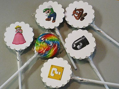 wii cupcake toppers