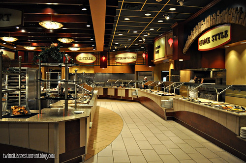 Grand Casino Buffet (right side)~ Hinkley, MN