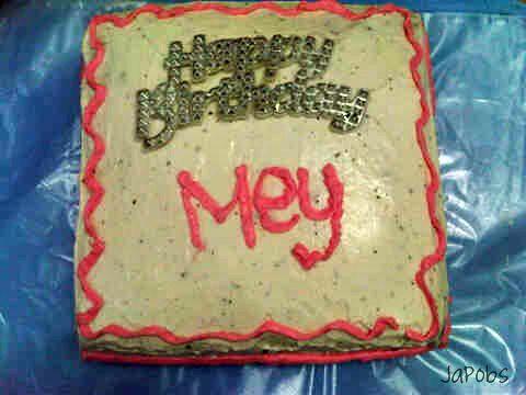 my bday cake by SA