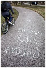 Follow Path Around (Tower Grove Park)