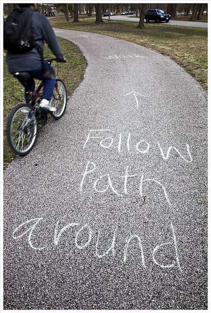 Follow Path Around (Tower Grove Park)