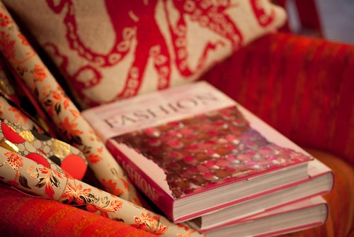 Fashion book and paper