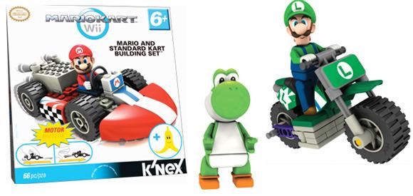 Mario Kart Wii K'NEX sets