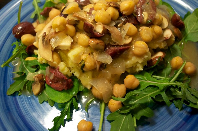 isas chickpea piccata