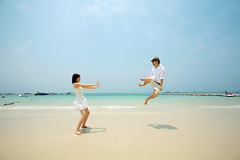 (Appleping) Tags: love beach apple thailand   pattaya        kohlarn   bongkok