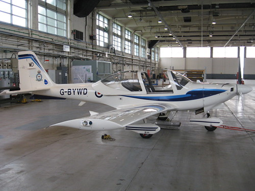 G-BYWD at St Athan 7 04 11