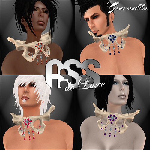 A:S:S deLuxe - Graverobber necklace by Photos Nikolaidis