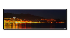 Altea. # La nuit. (laluzdivinadetusojos) Tags: light church coast spain mediterranean mediterraneo iglesia alicante altea anawesomeshot