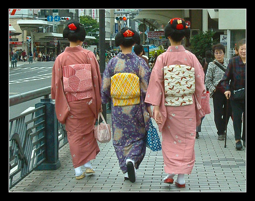Ejemplos de peinados de maikos