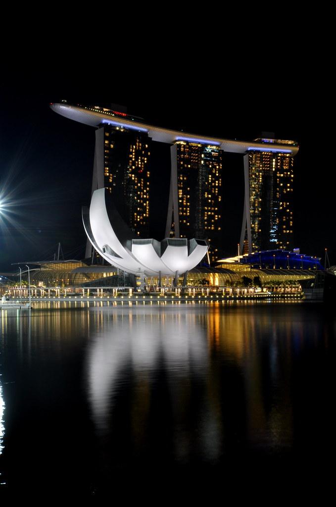Singapore at Night 新加坡夜景 ...