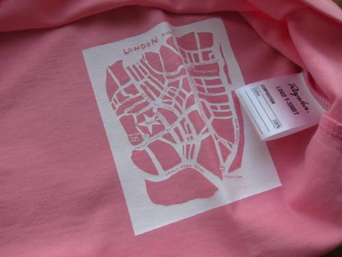 Inside of Rapha Logo T-shirt
