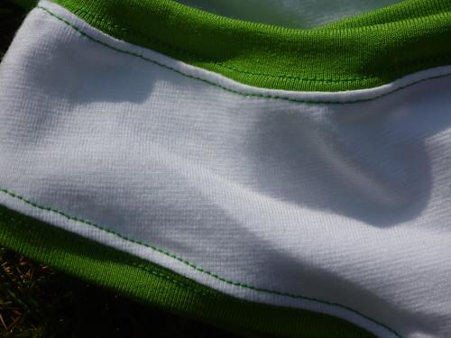 Detail fris groen