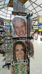 Royal Wedding, seen from a Railway Station