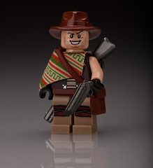 Western Outlaw (~Ghost Soldier~) Tags: red dead interesting cowboy lego fig action awesome rifle barrel bap off double western ba minifig shotgun lar redemption outlaw lever prototypes minifigure protos sawed brickarms prototipz