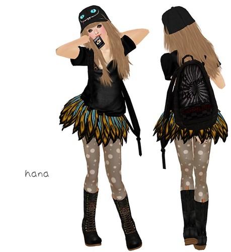 .-Lowlifes-.  Baggy Top Black 1L