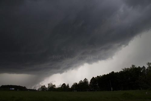 nc tornado pics. near Selma NC 4/16/2011