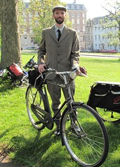 Jake on the Vintage Velo