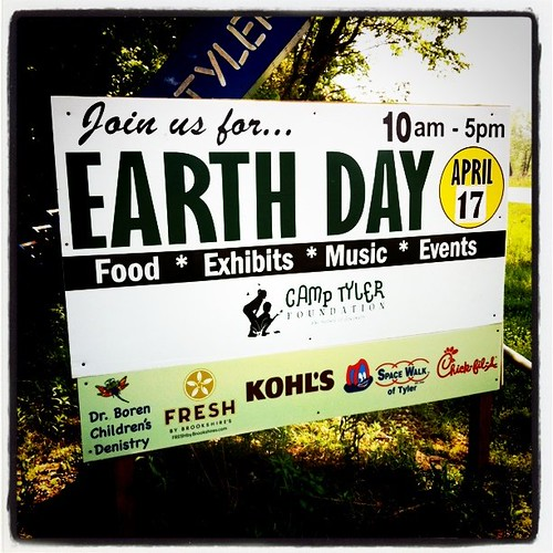 Earth Day in East Texas
