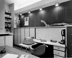 San Francisco interior architecture - 1960s (andwhatsnext) Tags: sanfrancisco blackandwhite architecture vintage photography construction americana contractor cabinetry philipfein clickamericanacom